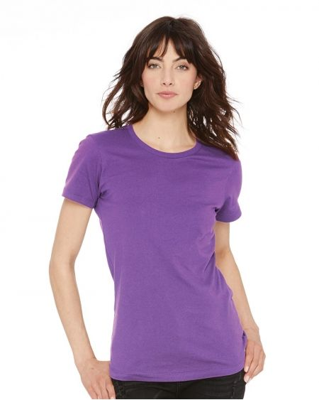 Next Level-Women's Cotton Short Sleeve Boyfriend Crew-3900