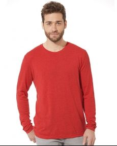 Next Level-Triblend Long Sleeve Crew-6071