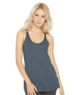 Next Level-Women's Triblend Racerback Tank-6733